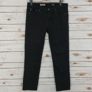 Adriano Goldschmied AG Black Stilt Crop Jeans 28